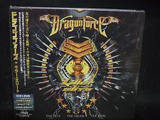 DRAGONFORCE Killer Elite - The Hits The Highs The Vids JAPAN 2CD + DVD Sabaton