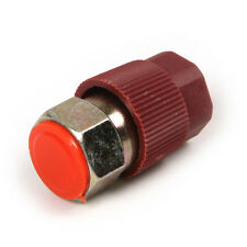R12 to R134a Red High pressure Conversion Quick Connect Coupler Set Adapter