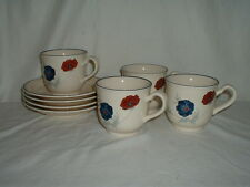 4 Noritake Keltcraft Harlequin Cup & Saucer Sets - 2 Lots Available