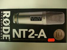 RODE NT2-A  NIB studio precision condenser microphone. 10 year warranty