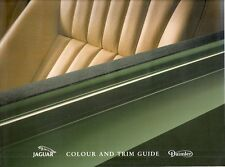 Jaguar Daimler Colour & Trim 1991-92 UK Market Brochure XJ6 Sovereign XJ40 XJS