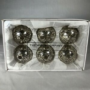 The White House London 6 Silver Glass Placeholders Card Holders or Mini Bud Vase
