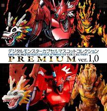 Bandai Digimon cápsula Mascota Premium Serie Colección versión 1.0 Set blitzgreymon