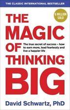NEW The Magic of Thinking Big by David J. Schwartz - Paperback - Free Shipping