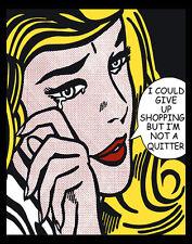 Pop Art #3 Shopping Canvas 16 x 20   #8845