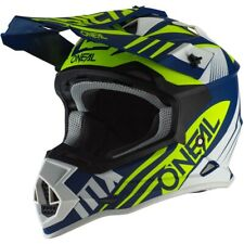 Oneal MX 2020 2 Series Spyde 2.0 Blue/White/Neon Off Road Motocross Dirt