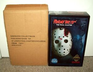 Friday the 13th Part 4 Sideshow EXCLUSIVE Figure MIB Jason Vorhees Final Chapter