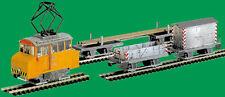 Straßenbahn Modell Kartonbausatz Schleifwagen m. 4 Arbeitsanh.Maßst.1:87-H0m