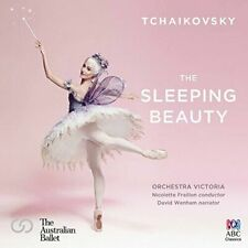 TCHAIKOVSKY The Sleeping Beauty CD NEW Australian Ballet Orchestra Victoria