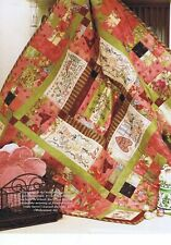 Girls Christmas Party Quilting Stitchery Pattern Bronwyn Hayes Red Brolly 90 cm