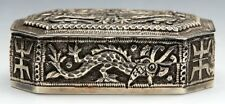 More details for chinese silver snuff box