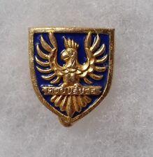insigne boutonnière INDOCHINE LA MOQUEUSE émail bleu ORIGINAL Marine 16 mm