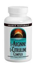 Source Naturals L-Arginine L-Citrulline Complex, 120 Tabs