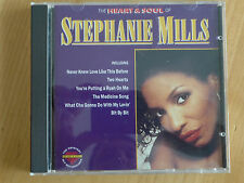 THE HEART & SOUL OF ----- STEPHANIE MILLS ----- CD