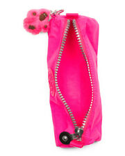 Kipling Freedom Pencil Pen Cosmetic Case Make-up Pouch Surfer Pink Nwt