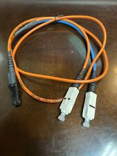 3FT MTRJ to SC Duplex 62.5/125 Multimode Fiber Optic Patch Cable - Orange