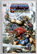 He-Man/Thundercats #1  DC Comics Hero Cover   Sold Out 1st Print