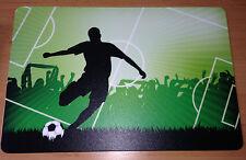 Schreibtischunterlage Fußballspieler Spielfeld Fußball 40x60 Cm Abwischbar Ball