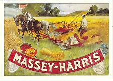 ROBERT  OPIE  ADVERTISING  POSTCARD  -  AGRICULTURE  -  MASSEY - HARRIS