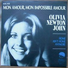 "OLIVIA NEWTON JOHN Mon Amour 7"" RARE FRENCH PS MINT!"