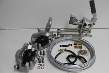 HYDRAULIC DISC TRAILER BRAKE KIT. BOAT/CARAVAN UPGRADE FROM MECHANICAL TO