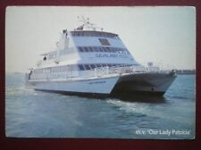 POSTCARD FERRIES SEALINK FERRIES 'LADY PATRICIA' PORTSMOUTH - RYDE SERVICE