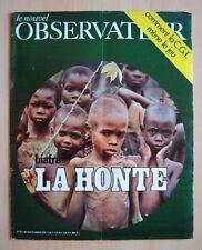 █ Le Nouvel Observateur n°271 BIAFRA la HONTE Nigeria █