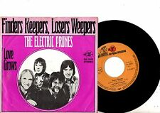ELECTRIC PRUNES 7' PS Finders Keepers GERMANY rare NICE UNIQUE COVER German 45