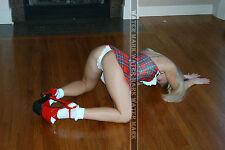 358 SEXY ART DECAL STICKER PIN UP GIRL HOT COLLEGE BLONDE BUTT ASS UP THONG