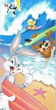 Looney Tunes Taz Tweety Sylvester Bugs Bunny Beach Towel surf new