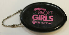 SDCC Promo Rubber Coin Purse Keychain 2 Two Broke Girls TV Show dennings behrs
