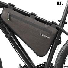 RockBros Waterproof MTB Road Bike Cycling Triangle Large Tube Frame Bag 8l