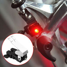 Bicycle Travel Brake LED Light Waterproof Cycling Mountain Bike V-shape brake