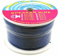DNF 12 GAUGE BLUE SPEAKER WIRE 250 FEET FOR HOME CAR AUDIO - SAME DAY  SHIPPING