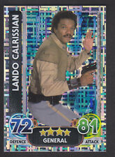 Topps Star Wars - Force Attax The Force Awakens # 199 Lando - Holographic