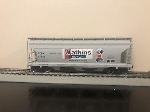 WALTHERS 40' CLOSED HOPPER CAR WALTKINS SALT HO SCALE LIKE NEW