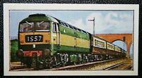 BRITISH RAILWAYS  Class 47   Diesel Locomotive   Colour Card