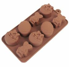 Easter Bunny Rabbit Egg Duck Silicone Mould Chocolate Ice Jelly Silicone