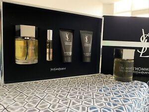 Yves Saint Laurent L'Homme Gift Set Plus a 100ML bottle