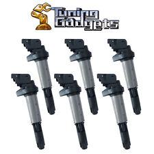 Set of 6 Ignition Coils For BMW E46 E39 E60 E63 E53 X3 X5 Z4 Rolls Royce UF522