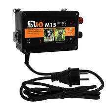 Weidezaungerät Ellofence M15, 230 V Elektrozaungerät Hunde Katzen Extrem leise