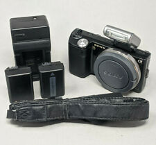 Sony Alpha NEX-5 14.2MP  Digital Camera Black Body Only