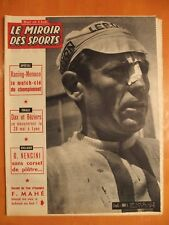 Miroir des Sports 853 du 15/5/1961-Cyclisme-Tour Espagne, F. Mahé blessé au nez