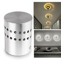 Spiral Hole Wall Lamp Surface Install LED Light Luminaire Light Home Decoration