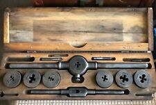 Vintage Wells Brothers Greenfield Tap & Die Set, Little Giant, No. 5
