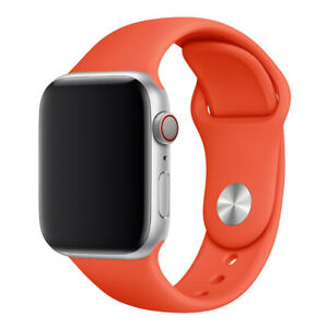 Silicone Sports Strap For Apple Watch iWatch 7/6/5/4/3/2 Bracelet 38/42/40/44mm