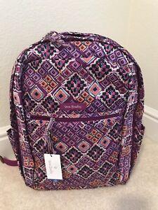 NWT Vera Bradley Lighten Up Grand Backpack Dream Diamond $55