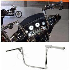 """Chrome 1-1/4"""" 18"""" Ape Hangers Handlebar For Harley Dressers Baggers Touring FLHT"""