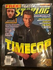 Starlog 206 Ft. Time Cop, The Invaders, Roswell, Jean-Claude Van Damme GA1-76
