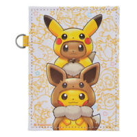 Pokemon Center Original FAN OF PIKACHU & EEVEE Card Pass Case Poncho ID Japan